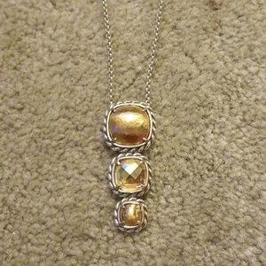 Brighton 3 stone necklace